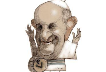 Cristina con Papa Francisco