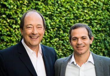 Ernesto Sanz y Lucas Llach