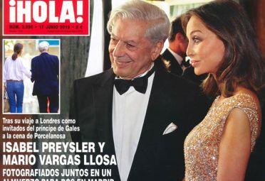 Vargas Llosa Isabel Preysler