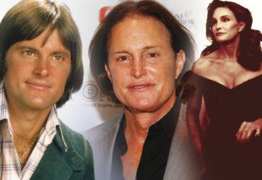 La transformación de Bruce Jenner: de los años 70 (derecha) a hoy.