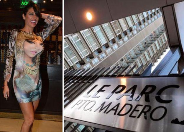 Vicky Xipolitakis se fue de Le park por el fantasma de Nisman