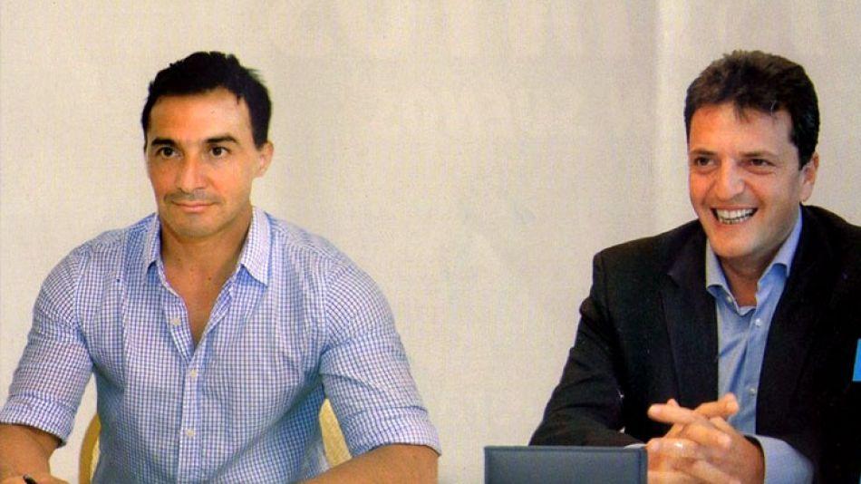 Spadone se candidateó en la localidad bonaerense de Salto. Lo mordió un perro en plena recorrida de campaña.