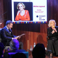 Luis Majul y Mirtha Legrand