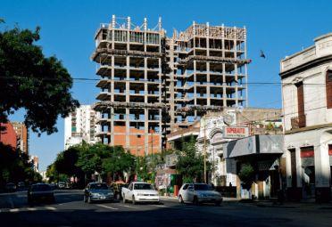 REBOTE. Primeros indicios de crecimiento de la industria de la construcción.