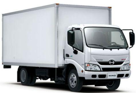 Lleg 243 Hino La Marca De Camiones De Toyota Revista