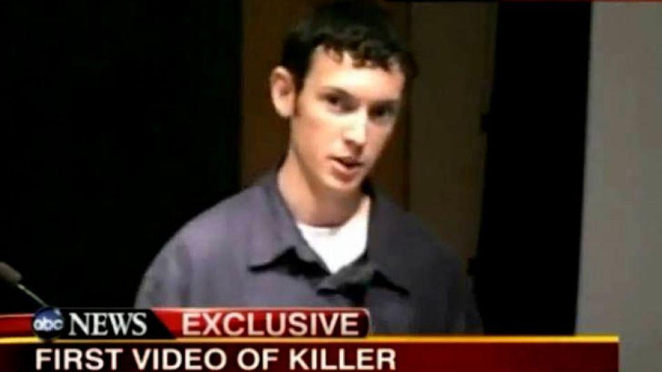 James Holmes mató a doce personas en julio de 2012 cuando irrumpió en un cine y disparó al público.