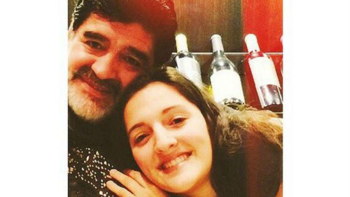 Diego y Jana Maradona