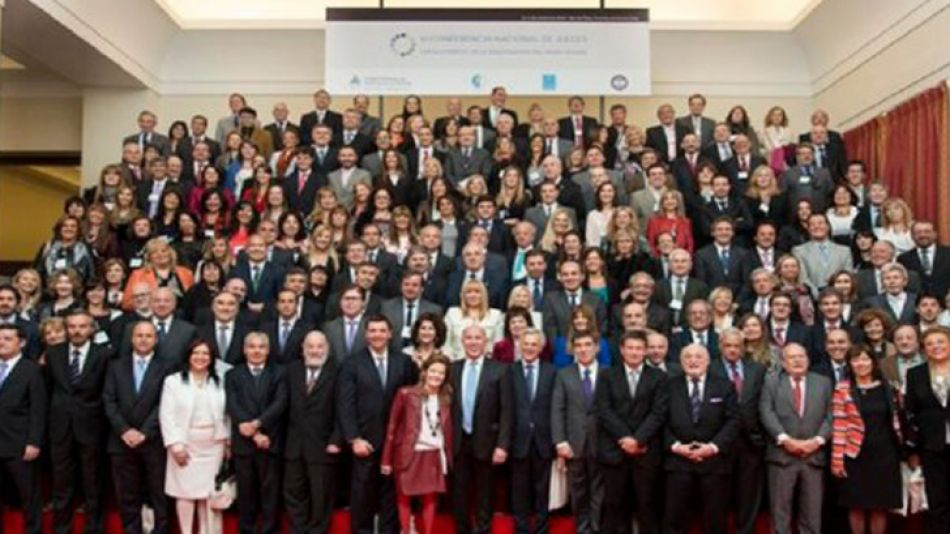 Magistrados. La última conferencia nacional de jueces de todo el país, en Mar del Plata.