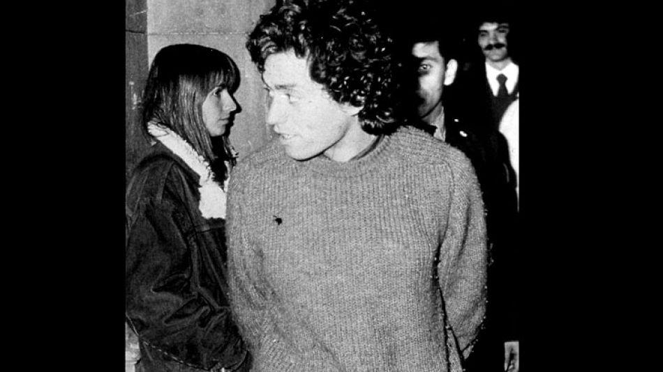 Alejandro Puccio cuando fue detenido