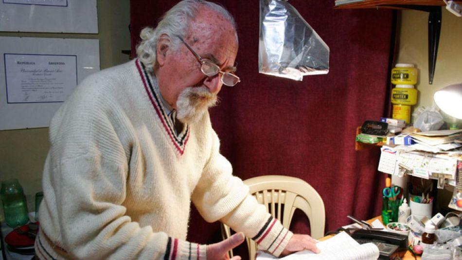 Arquímedes Puccio murió a causa de un ACV en 2011.