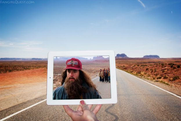Forrest Gump: Monument Valley, Estados Unidos.