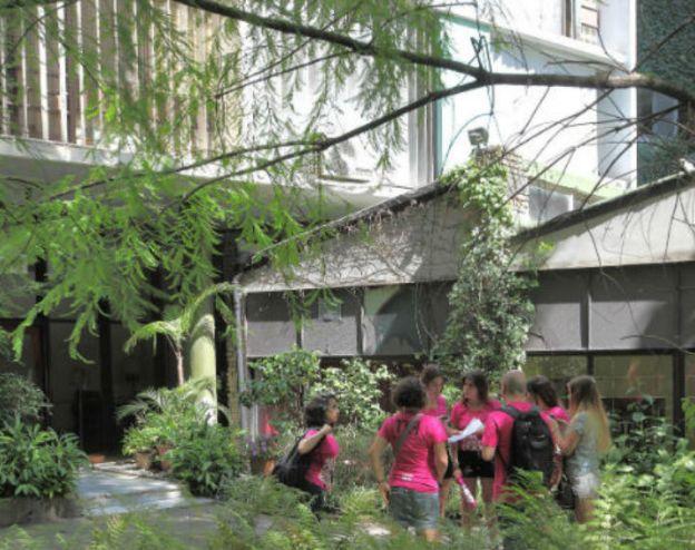 Edificio Los eucaliptos. (Foto de Pablo Corral).