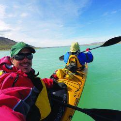 kayak río santa cruz