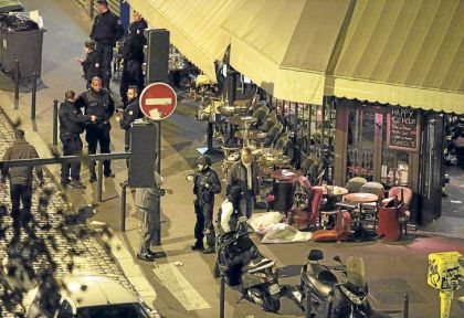 Francia de luto. Un grupo de ataques simultáneos sembraron horror en la capital francesa.