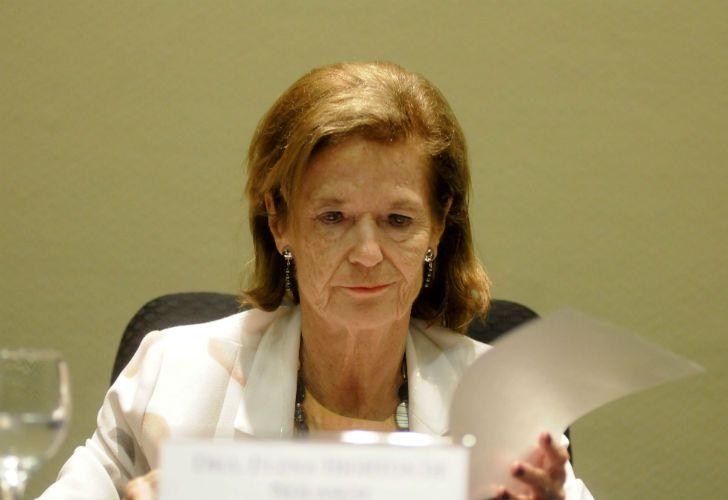 La vicepresidenta de la Corte Suprema, Elena Highton de Nolasco.