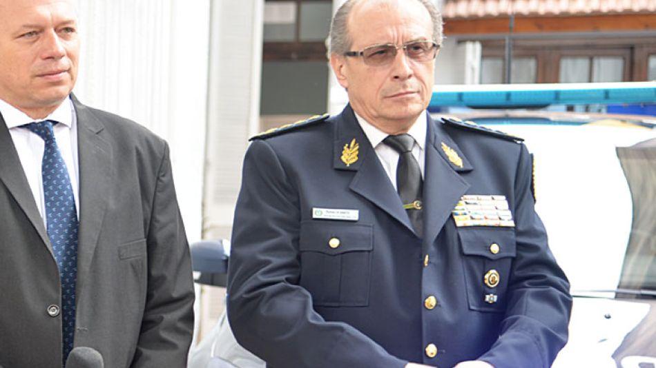 Jefe saliente. El titular de la PF, Román Di Santo, sería reemplazado en la gestión macrista.