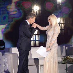 Macri con Susana