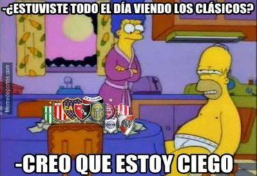 El meme luego de la Fecha de Clásicos del Torneo de 30 equipos.
