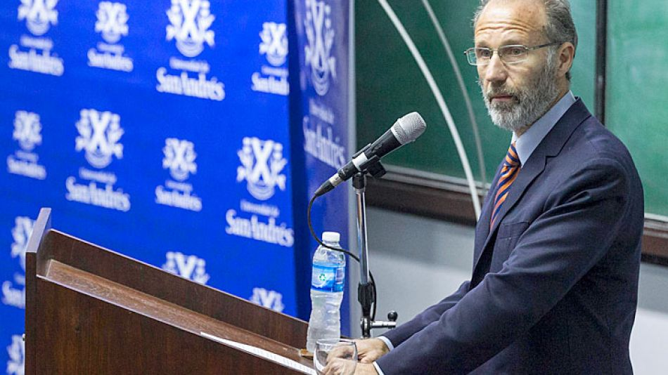 Rector. La Universidad de San Andrés anunció que Rosenkrantz dejará el cargo el 15 de febrero.
