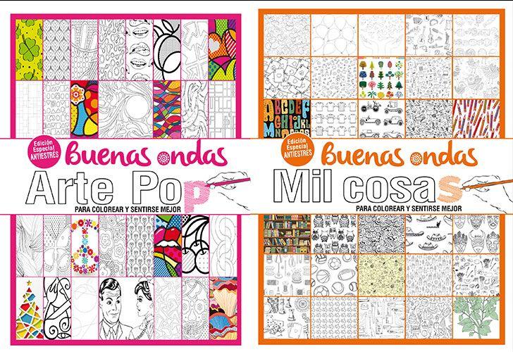 Libros para colorear dedicados a adultos | Perfil