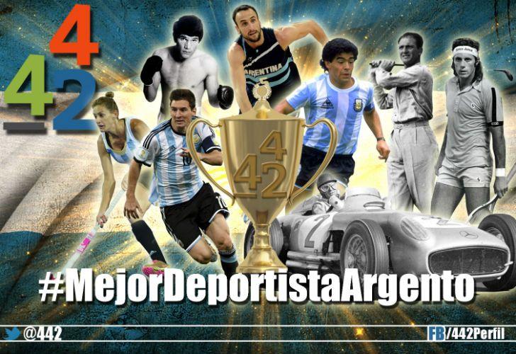 El segundo Mundial de Twitter. Votá por el mejor deportista argentino de la historia.