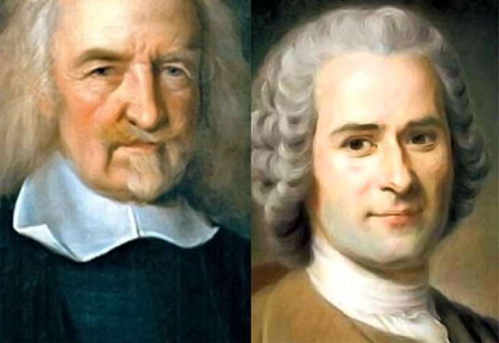 hobbes and rousseau