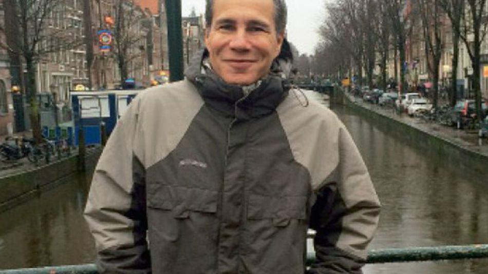 Una de las fotos del último viaje de Nisman.