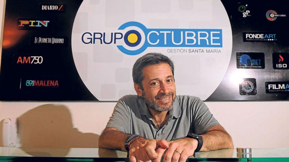 Dirigente. Santa María es el titular del gremio de encargados de edificios y del PJ porteño.