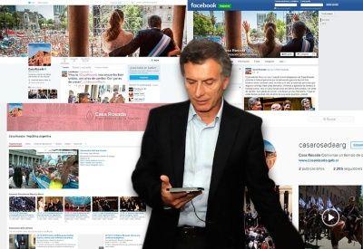 A full en las redes. El presidente tiene Facebook, Snapchat, Twitter e Instagram.
