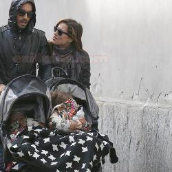 Lola Ponce y Aaron Diaz en Milan (1)