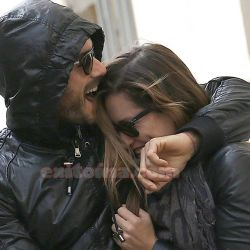 Lola Ponce y Aaron Diaz en Milan (2)
