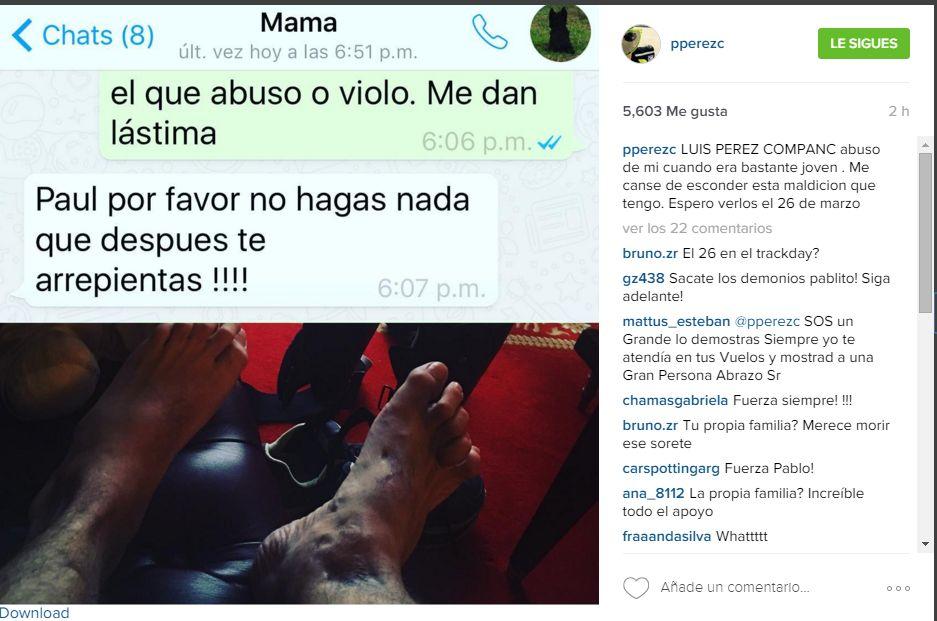 Pablo Perez Companc Instagram