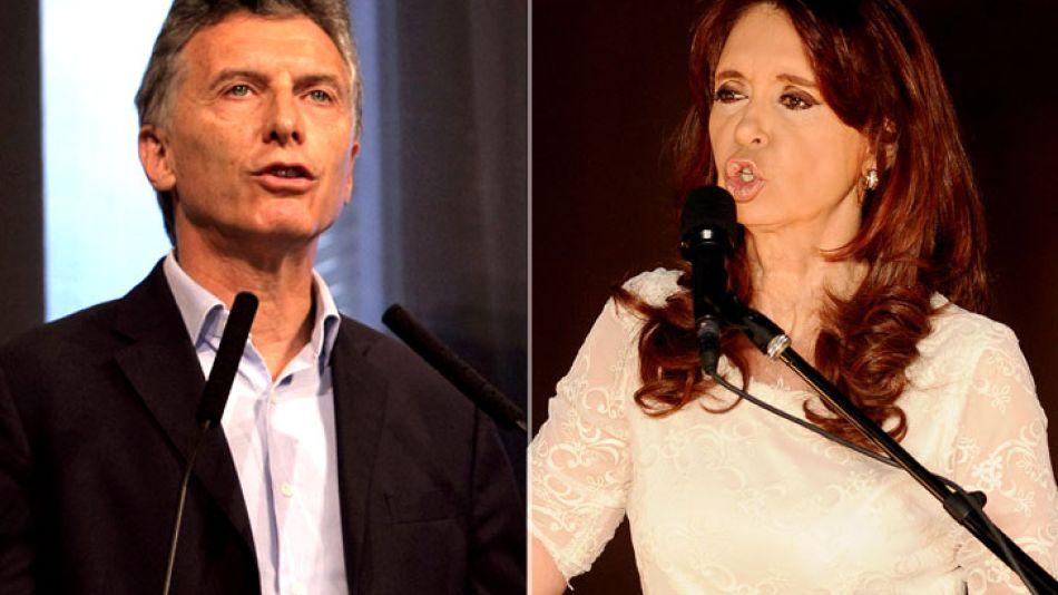 Los récords de Cristina y las pocas palabras de Macri