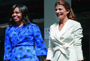 El modelo. Michelle Obama inspira a la asesora de la primera dama Awada.
