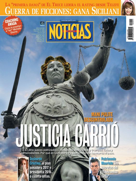 Noticias 2051 - Justicia Carrió