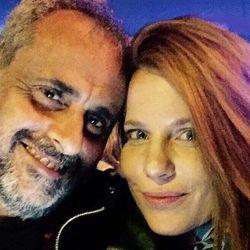 Agustina Kampfer y Jorge Rial