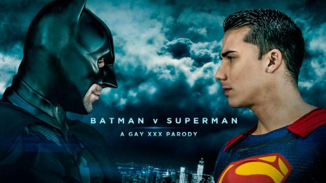 Superman gay porn video