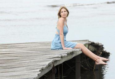 """Alina Moine: """"No me desnudaría, no me siento cómoda"""""""