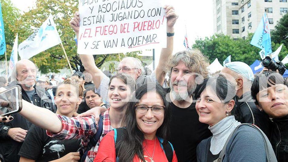 El exvicepresidente le demostró su apoyo a Cristina Fernández de Kirchner.