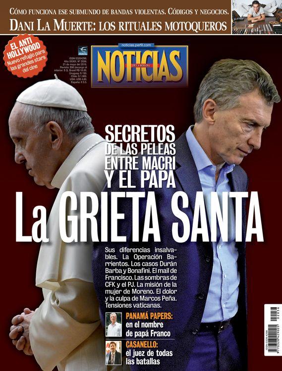 Tapa Noticias 2056: La grieta santa