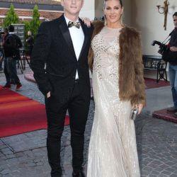 Martin Liberman y esposa