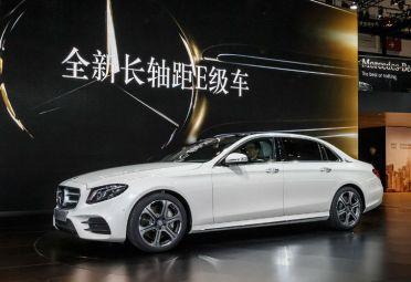"""Con el lanzamiento del nuevo Clase E """"L"""", la marca cuenta con una proporción superior al promedio de vehículos con chofer en el mercado chino."""