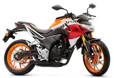 Edición especial Repsol (inspirada en la moto insignia del Repsol Honda Team del Moto GP).