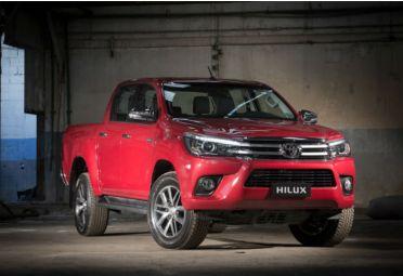 La Toyota Hilux se alzó como el modelo más patentado de abril, con 3.134 unidades.