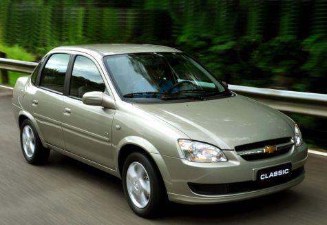 Chevrolet Classic (la versión de la ilustración, no necesariamente coincide con la nombrada en la nota)