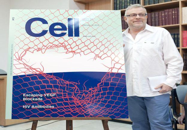 Internacional. El trabajo de Gabriel Rabinovich y su equipo fue tapa de la prestigiosa revista científica Cell, en el 2014.