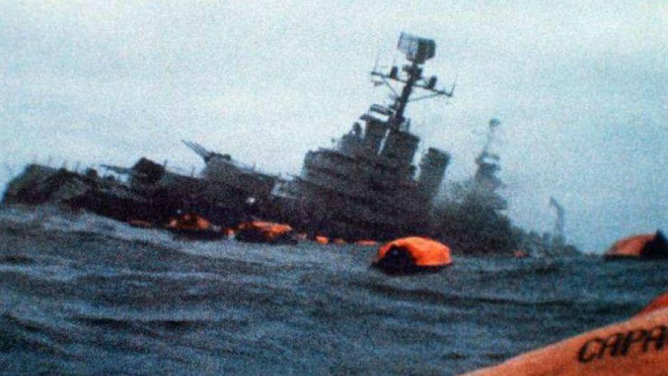 En el hundimiento murieron 323 argentinos.