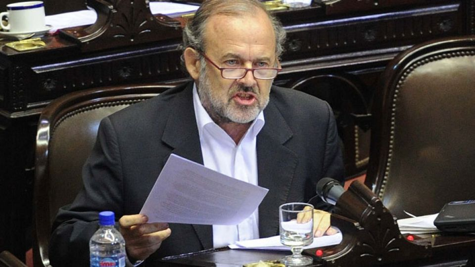 El diputado Eduardo Amadeo.