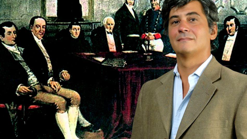 La Primera Junta es analizada por Daniel Balmaceda.