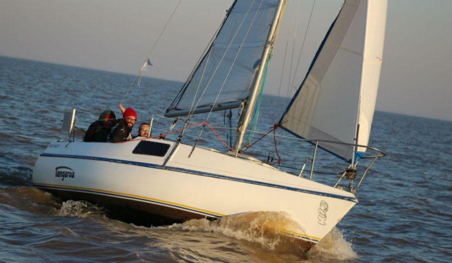 Tangaroa I navegando